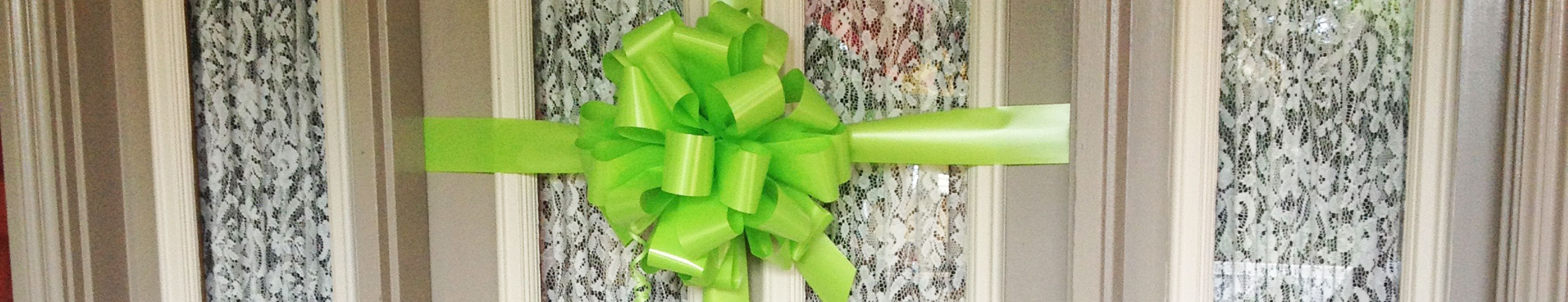 house-bow-lime-green
