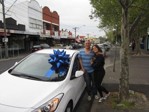 Car Bow - Sapphire Blue | Queen Regal Bow | Bowzz Bows