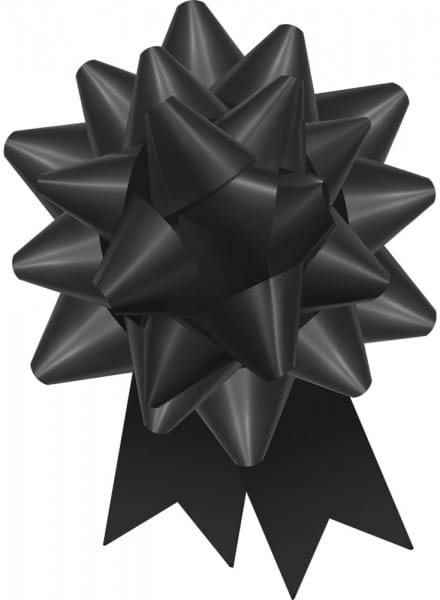 Black Regal Bow