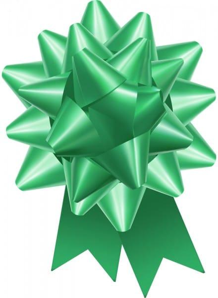 Emerald Green Regal Bow