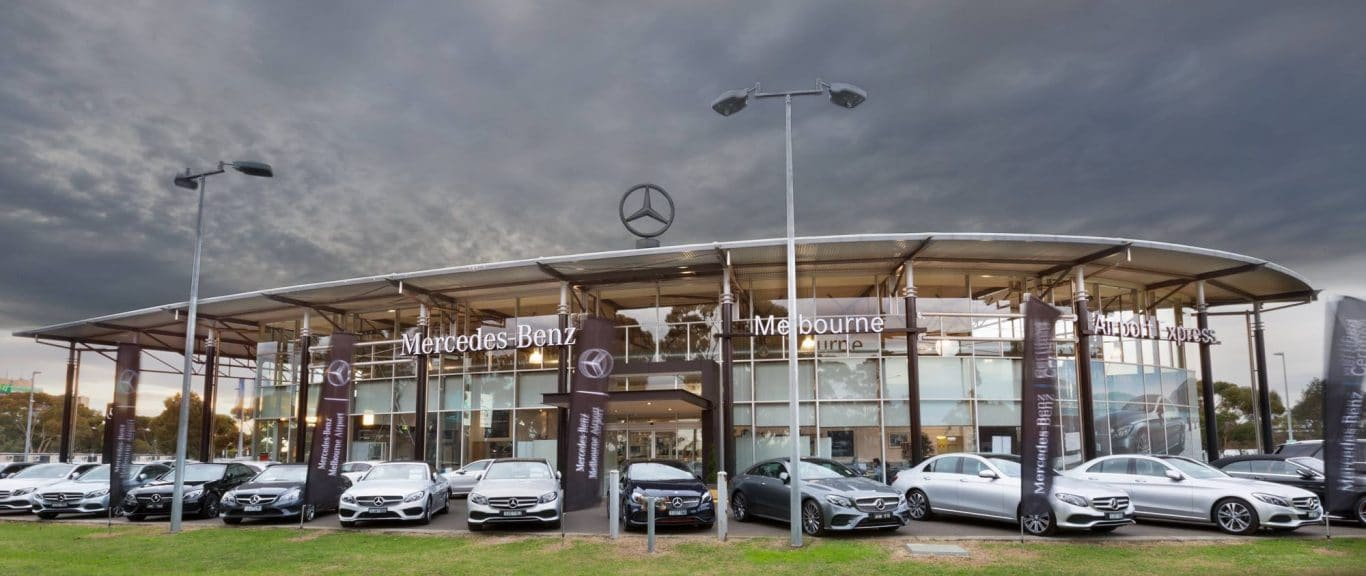 Mercades Benz Melbourne Airport | Christmas Sale | Car Dealership | Car Christmas Event | Car Dealerships Promotional Sales Event Large Bows