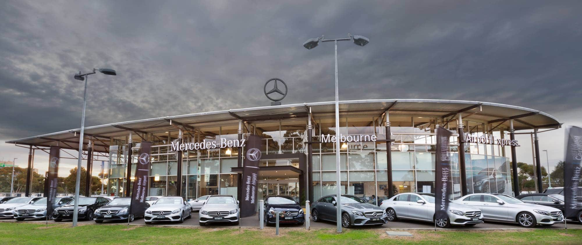 Mercades Benz Melbourne Airport | Christmas Sale | Car Dealership | Car Christmas Event | Car Dealerships Promotional Sales Event Large Bows