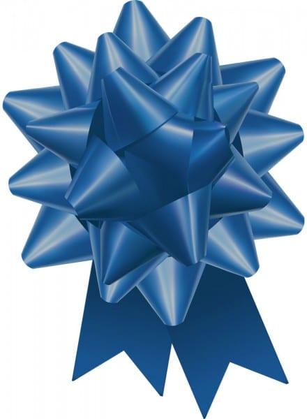 Sapphire Blue Regal Bow