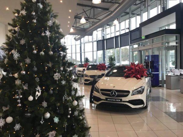 Mercades Benz Melbourne Airport | Christmas Sale | Car Dealership | Car Christmas Event | White Christmas