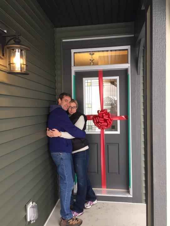 Big Red Door Bow | Door Bow | Big Bow Sydney | Big Door Bows