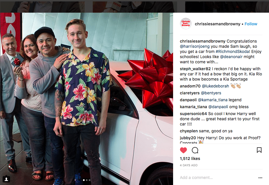 Win a car on radio | Big Red Bow \ Car giveaway