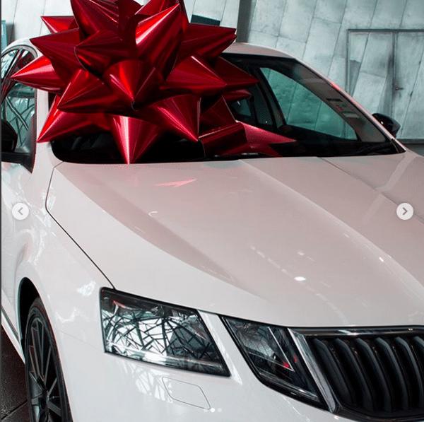 Big Red Bow | Richmond Skoda | Win a Car
