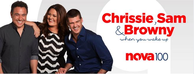 Chrissie, Sam and Browny | Nova 100 Melbourne | Car Giveaway