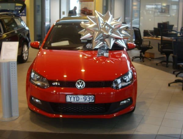 Buy a big bow | Big Silver Bow | Car Bow | Bow for Volkswagon