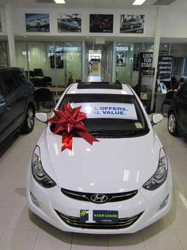 Buy a big bow | Big Red Bow | Car Bow | Bow for Hyandai Car